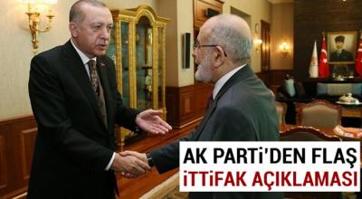 AK Parti'den Saadet Partisi ile ilgili açıklama