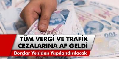 Banka, kredi, vergi ve trafik cezaları için flaş gelişme! Tüm borçlar Hazine Bakanlığı tarafından silinecek! İlk resmi açıklama geldi…