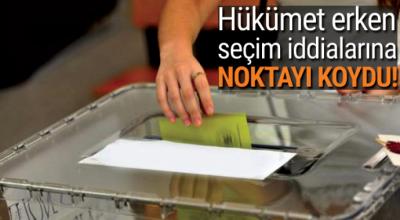 Bozdağ'dan erken seçim açıklaması