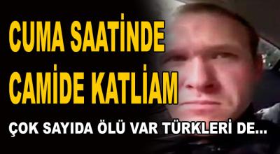 Cuma saatinde camide katliam! Çok sayıda ölü var Türkleri de