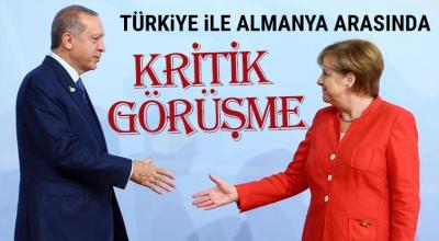 Cumhurbaşkanı Erdoğan ve Merkel'le Kritik Telefon Konuşması
