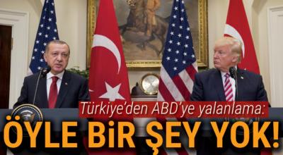 Dışişleri'nden ABD'ye yalanlama: Afrin için diplomatik görüşme yok