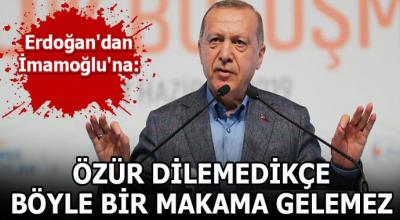Erdoğan'dan şok sözler! İmamoğlu kazansa bile makamı vermeyecekler...