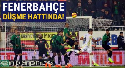 Fenerbahçe Akhisar'da kayıp! (Akhisarspor 3-0 Fenerbahçe)