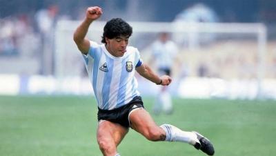 Futbolun Dehası Maradona'ya Veda Edildi