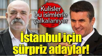 CHP İstanbul Belediye Başkanlığına Çukur dizisi İdris babası geliyor! İşte adaylar