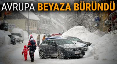 Kar ve don Avrupa'yı olumsuz etkiledi