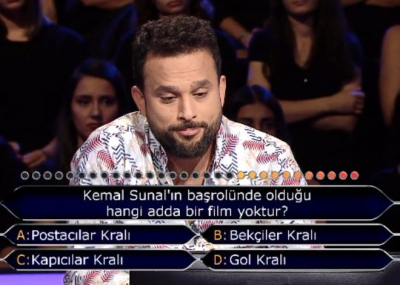 Kim Milyoner Olmak İster'e damga vuran Kemal Sunal sorusu!
