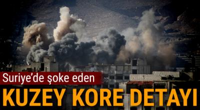 'Kuzey Kore, Suriye'ye kimyasal silah yapımı için materyal gönderdi'