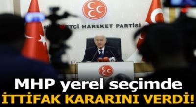 MHP'den flas yerel seçim ittifakı açıklaması