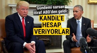 Obama ve Trump'ın savunduğu PYD, Kandil'e hesap veriyor