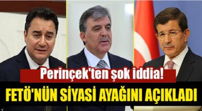 Perinçek'ten iddia! Fetö'nün siyasi ayağını açıkladı