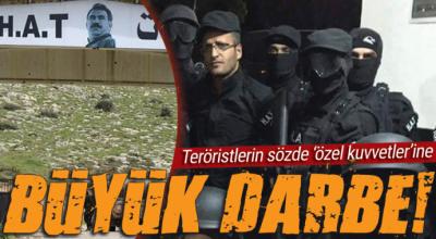 PKK'nın sözde özel kuvvetleri ÖSO'ya direnemedi