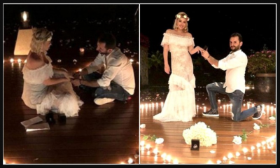 Şarkıcı Aylin Coşkun, 14 Yıllık Sevgilisinden Evlilik Teklifi Aldı