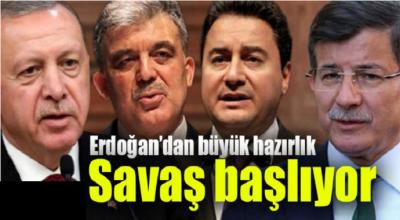 Savaş başlıyor! Erdoğan'dan büyük hazırlık