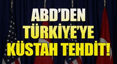 Son dakika: ABD'den küstah Türkiye Açıklaması