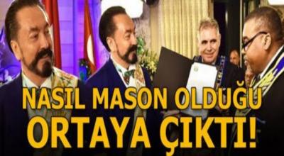 Son dakika: Adnan Oktar'ın nasıl mason olduğu ortaya çıktı!