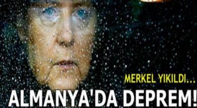 Almanya'da deprem! İstifa krizi Merkel'i sarsıyor