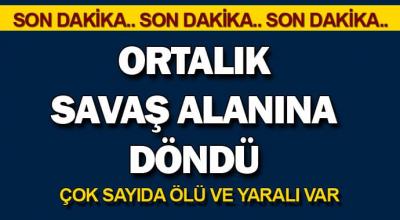 Son Dakika: Ankara'da olay sonrası! Ortalık savaş alanına döndü