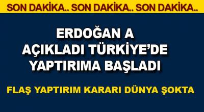 Son Dakika: Başkan Erdoğan dügmeye bastı!' ABD'ye yaptırım başladı' devamında...