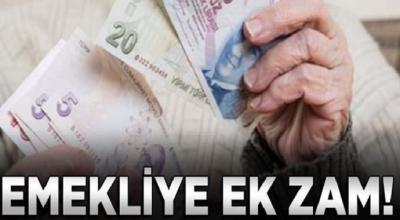 Son dakika: Emekliye müjde maaşlara ek zam