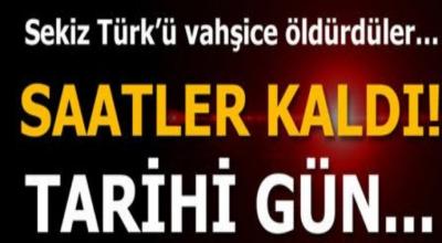Son Dakika ! Nazilerin Türk cinayetleri