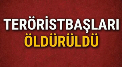 PKK'ya Büyük Darbe! Terörist Başları Öldürüldü
