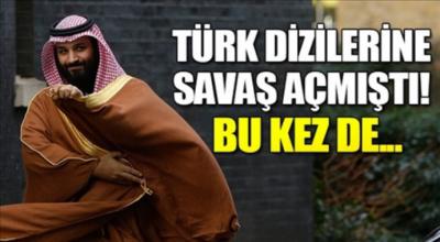 Türk dizilerine savaş açmıştı bu kez