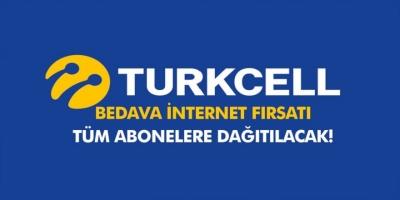 Turkcell'den Herkese Ücretsiz Bedava İnternet Hediye!