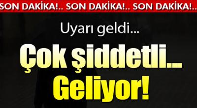 Yağışlar Türkiye genelinde çok etkili olacak!