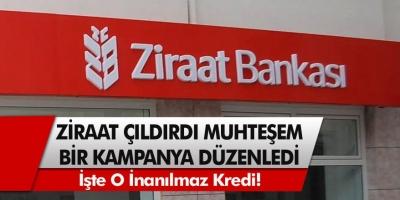 Ziraat Bankasından Görülmemiş Fırsat! Faiz Oranları Düşürüldü, Başvuru Rekoru Kırdı...
